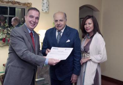 Massimo Tancredi é homenageado com título Embaixador de Turismo do RJ